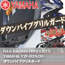 R&G RACING YZF-R25/30  DOWN PIPE GRILL