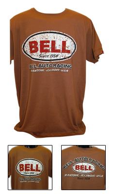 Bell Auto Racing Brown