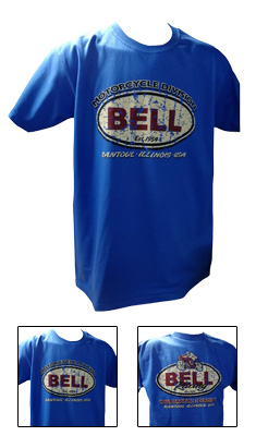 Bell Auto Racing Retro Logo Graphite Grey